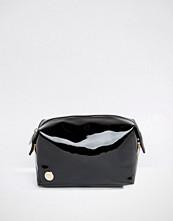 Mi-pac Make-Up Bag in Black Patent