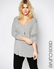 ASOS Curve New Forever Top with Long Sleeves