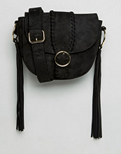 Missguided Buckle Fastening Shoulder Bag