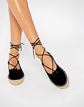 Boohoo Lace Up Espadrille