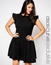 ASOS Curve Playsuit with Frill Sleeve