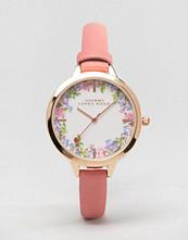 Johnny Loves Rosie Floral Pink Watch