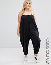 ASOS Curve Brushed Jersey Minimal Cami Harem Jumpsuit