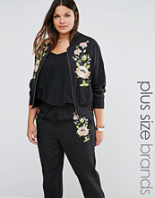 Alice & You Floral Embroidered Bomber