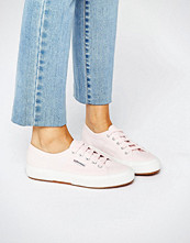 Superga 2750 Classic Plimsole In Pale Pink