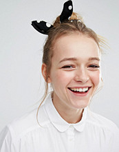 Monki Polka Dot Hair Scrunchie