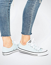 Converse All Star Pale Blue Ox Trainers