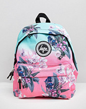 Hype Exclusive Peachy Floral & Leaf Backpack