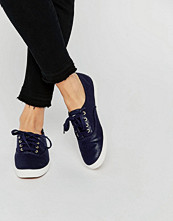 Keds Metallic Canvas Plimsoll Trainers