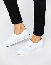 Vans Authentic Classic White Lace Up Trainers