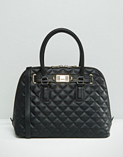 ALDO Quilted Dome Tote Bag