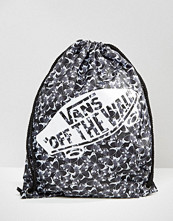 Vans Benched Drawstring Backpack In Butterfly Print