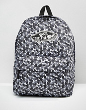 Vans Realm Backpack In Butterfly Print