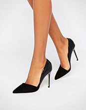 Lipsy Asymetric Point Court Shoes