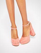 ALDO Shery Ankle Strap Platform Heeled Shoes