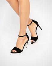ALDO Fiolla Ankle Strap Suede Heeled Sandals