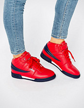 FILA F-13 Mid Trainers In Red