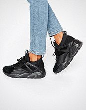 Puma Blaze Of Glory Sock Trainers In Black