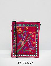 Reclaimed Vintage Velvet Cross Body Bag