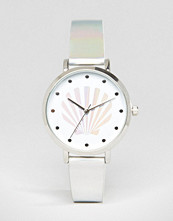 ASOS Holographic Shell Watch