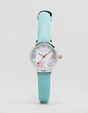 Johnny Loves Rosie Mint Floral Watch