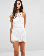 Missguided Mesh Playsuit