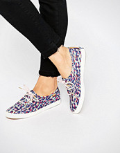 Keds Liberty Meadow Print Plimsoll Trainers