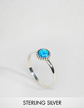 Reclaimed Vintage Opal Sterling Silver Ring