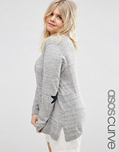 ASOS Curve Jumper with Elbow Patches
