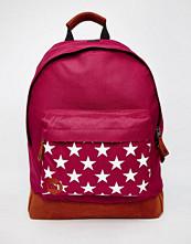 Mi-pac Burgundy Stars Backpack