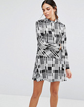 Isla Sonic Print Mini Dress