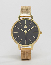 ASOS Sleek Large Face Skinny Strap Mesh Watch
