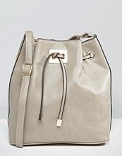 Yoki Fashion Smooth Bucket Bag