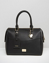 Marc B Classic Structured Bowler Tote Bag