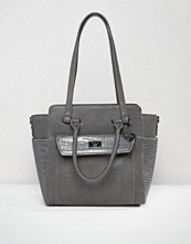 Marc B Structured Winged Tote Bag