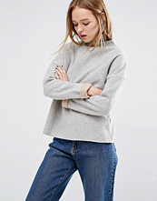 Native Youth High Neck Jumper With Cosmetic Underlining