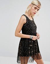 Raga Beaded Embellished Short Dress