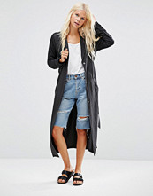 Minimum Katy Drapey Longline Jacket