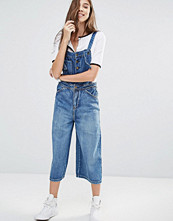 Pull&bear Cropped Dungaree