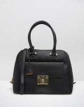 ALDO Dome Tote Bag With Lock Detail