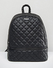ALDO Quilted Backpack in Black