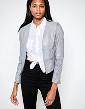 Barneys Originals PU & Suedette Jacket