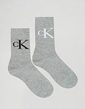 Calvin Klein 2 Pack Retro Logo Crew Socks