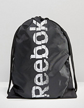 Reebok Drawstring Backpack With Washed Logo