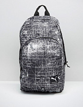 Puma Line Print Backpack