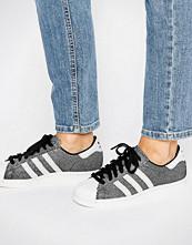 Adidas Originals Metallic Print Superstar Trainers