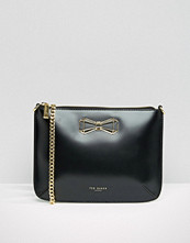 Ted Baker Leather Cross Body Bag With Bow