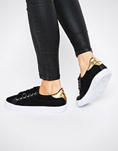 ASOS DEPORT Mesh Lace Up Trainers