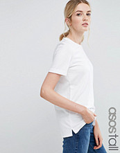 Asos Tall Light-Weight Knitted Loop Back T-Shirt