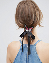 ASOS Butterfly Bow Badge Hair Tie